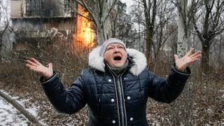 Die Waffenruhe in der Ostukraine hält
