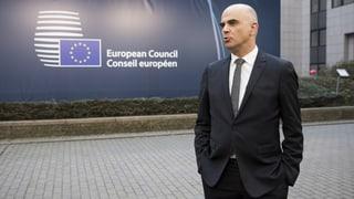 Schweiz und EU widersprechen sich