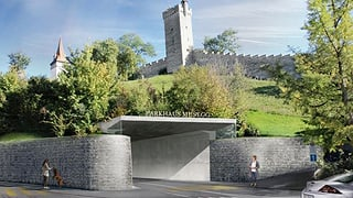 Stadt Luzern regelt Zusammenarbeit mit Musegg-Parkhaus-Initianten