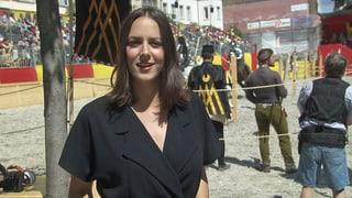 Video «Kulturplatz an den grossen Schaffhauser Ritterspielen» abspielen