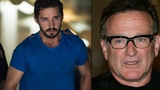 Shia LaBeouf und Robin Williams haben ausgetrunken