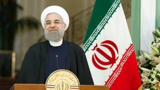 Il president iranais Hassan Rohani vegn en Svizra