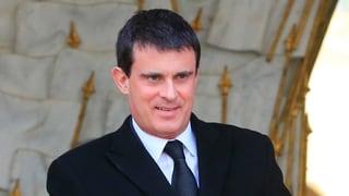 Mit «Kampfregierung» unter Manuel Valls aus dem Tief