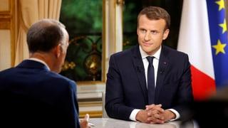 Macron kündigt härteren Abschiebekurs an