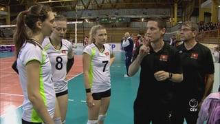 Volleyballerinnen verpassen vorzeitige EM-Quali