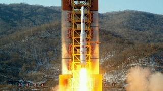 Nordkorea provoziert mit Test einer Langstrecken-Rakete