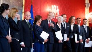 Erste Expertenregierung und erste Kanzlerin für Österreich