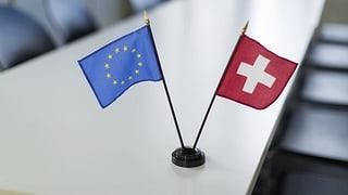 So wollen Parlamentarier das Rahmenabkommen retten (Artikel enthält Video)