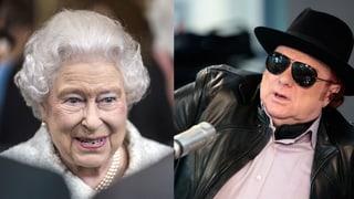 Queen Elizabeth schlägt Van Morrison zum Ritter