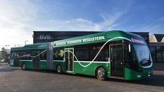 Neuer E-Bus der BVB ist kein Freund enger Kurven