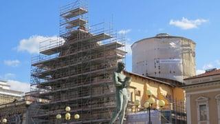 «L'Aquila ist nach wie vor eine riesige Baustelle»