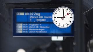 SBB soll bei Verspätungen künftig zahlen – und zwar viel