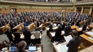 Parlamentaris grischuns en bleras cumissiuns federalas