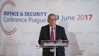 Juncker will engere Militärzusammenarbeit