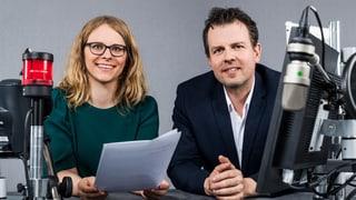 Hier geht's zum Tagesgespräch mit Barbara Peter und Marc Lehmann
