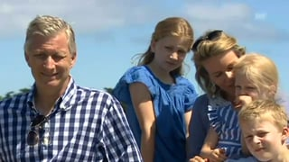 Und tschüss! Belgische Königsfamilie macht Ferien in Frankreich