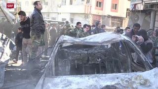 Bombenanschläge in Damaskus