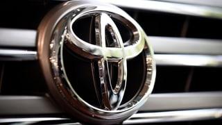 Nach VW nun Toyota: Rückruf für Millionen Autos