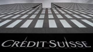 Credit Suisse Schweiz nimmt Betrieb auf