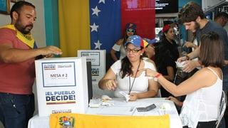 Venezuela: Violenza tar la votaziun simbolica
