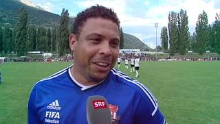 Sion-Legenden bringen Ronaldo ins Schwitzen