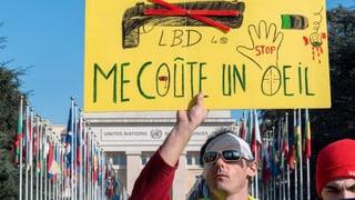 Gelbwesten-Protest gegen Gummigeschosse