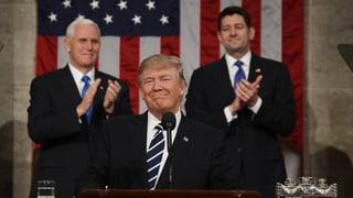 Donald Trump ruft Amerika zu Optimismus auf