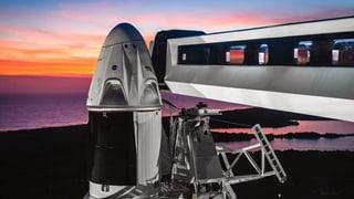 Neue Kapsel von SpaceX soll Astronauten transportieren