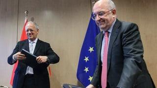 Schweiz nähert sich den EU-Wettbewerbsbehörden an