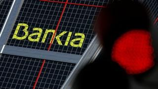 Spanische Krisenbank meldet Rekordverlust