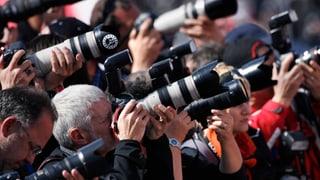 Kameras müssen draussen bleiben