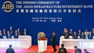 Startschuss für die Asiatische Entwicklungsbank