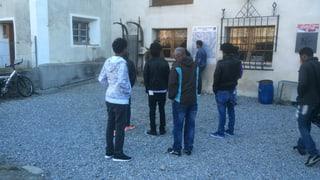 Incaps tar l'arriv dals emprims fugitivs en Val Müstair