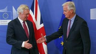 London und die EU einigen sich auf Fahrplan