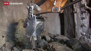 Lavurs da perfuraziun per il nov tunnel da l'Alvra han cumenzà (Artitgel cuntegn video)
