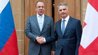 «Die Schweiz ist für Russland als neutrale Vermittlerin wichtig»