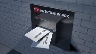 Willkommen bei der SRF-Investigativ-Box (Artikel enthält Video)
