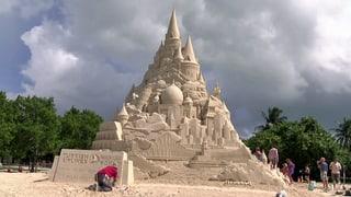 Das ist sie: Die grösste Sandburg der Welt