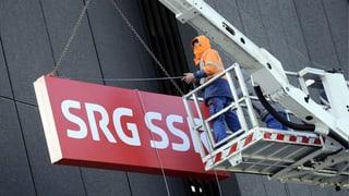 La SRG SSR stritga var 250 plazzas