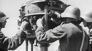 Abgeschossen von der neutralen Schweiz