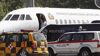 Erzwungene Landung von Morales-Flugzeug hat diplomatische Folgen