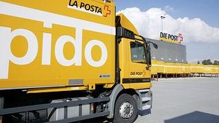Schweizer Post löst ihre Lastwagenflotte auf