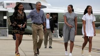 Obamas letzte Ferien als Präsident