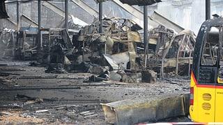 20 Postautos sind demoliert – Schaden von 7,5 Millionen Franken (Artikel enthält Video)