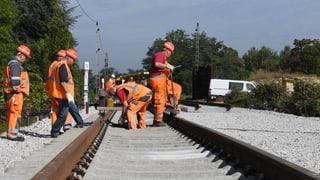 Deutsche Rheintalstrecke wieder offen