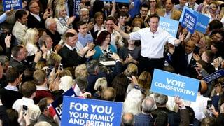 Warum die Briten auf die Konservativen setzen