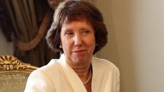 Catherine Ashton: «Mursi geht es gut»