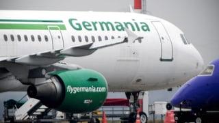 Germania wird reine Schweizer Airline
