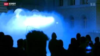 Berner Stadtregierung arbeitet die Krawallnacht auf