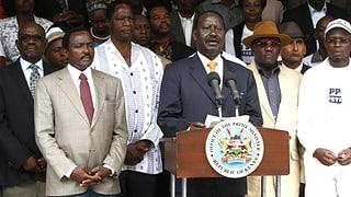 Verlierer spricht von Wahlbetrug in Kenia